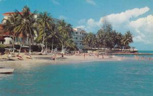 Tower Isle Hotel from the sea,Ocho Rios,Jamaica,40-60s
