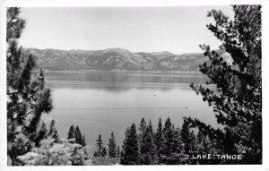 RPPC LAKE TAHOE Real Photo Postcard ca 1940s