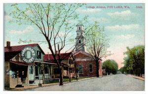 1911 College Avenue, Fox Lake, WI Postcard *5J14