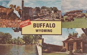 5-Views, Greetings from Buffalo, Wyoming, PU-1970