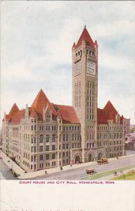 Court House and City Hall Minneapolis Minnesota