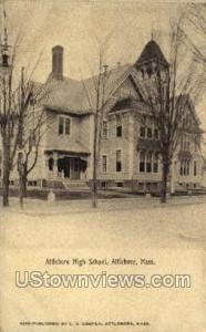 Attleboro High School Attleboro MA Unused