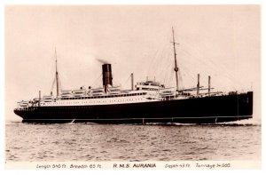 R.M.S. Aurania