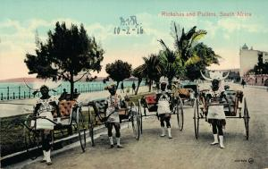 South Africa - Rickshas And Pullers 02.91