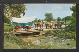 Conestoga Wagon Postcard