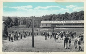 Camp K-C , MONROE , New York , 1910s ; Basketball