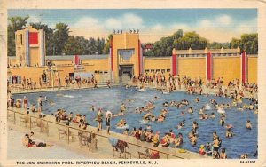 The New Swimming Pool, Riverview Beach in Pennsville, New Jersey