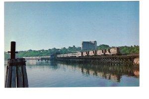 Portland, Maine,  Back Cove Bridge, Grand Trunk Railroad Club