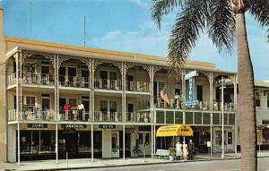 Bishop Hotel and Efficiency Apartments St Petersburg Florida Postcard
