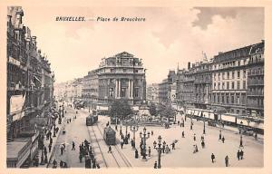 Bruxelles Belgium, Belgique, Belgie, Belgien Place de Brouckere Bruxelles Pla...
