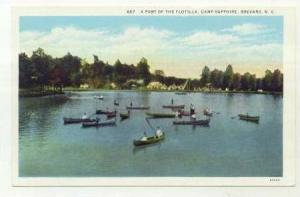 A Part of the Flotilla, Camp Sapphire, Brevard, North Carolina, 00-10s