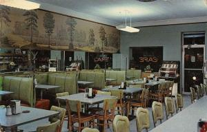 Hobbs New Mexico dining room interior Winslow Cafe  vintage pc ZA440605