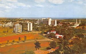Panama Old Vintage Antique Post Card Residential Section Panama City Unused