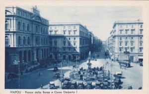NAPOLI, Campania, 1900-1910's; Piazza Della Borsa E Corso Umberto I, Classic ...