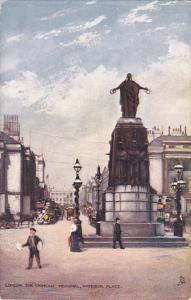 TUCK #7219, LONDON, The Crimean Memorial, Waterloo Place, England, United Kin...
