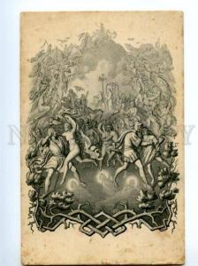 139537 FAUST & Mephistopheles Vintage ART NOUVEAU PC #13