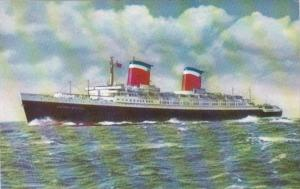United States Lines Flagship S S United States