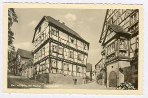 RP  Bad Wimpfen, Germany, 20-40s Kiostergasse