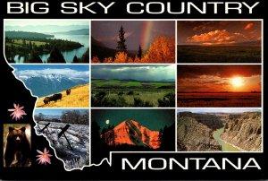 Montana Big Sky Country Multi View