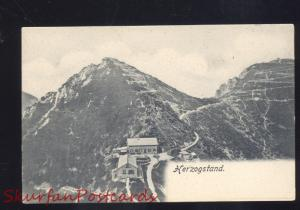 HERZOGSTAND GERMANY ANTIQUE VINTAGE POSTCARD