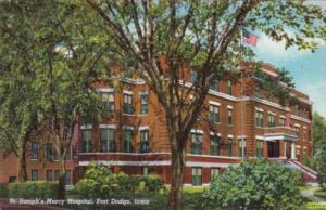 Iowa Fort Dodge St Joseph's Mercy Hospital Curteich