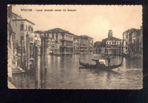 044019 ITALY Venezia Canal Grande verso Ca Foscar Vintage PC