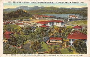 Panama Canal Zone, Balboa, Bird's Eye View of Balboa, administration Building