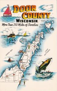 Map Of Door County Wisconsin