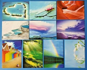Set of 10 NEW Nature Postcards great for Postcrossing & Postcardsofkindness