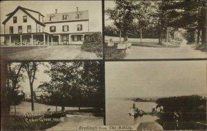 Cedar Grove ME The Ashley Multi View c1915 Real Photo Postcard