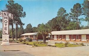 4336 GA  Valdosta 1960's   Pines Motel