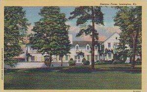 Kentucky Lexington Dixiana Farm Curteich