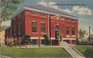 Military Post Exchange Fort Banks Massachusetts