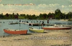 East Shore Beach Lake PA 1916