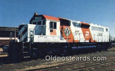 The Burlington Northern, USA Trains, Railroads Postcard Post Card Old Vintage...
