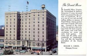 WV - Charleston, The Daniel Boone Hotel