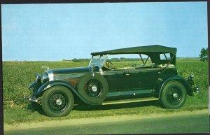 Classic Car Postcard 1929 LINCOLN Sport Phaeton