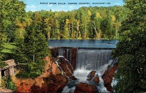 Michigan Copper Country Eagle River Falls