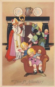 CHRISTMAS,1920-30s ; Vive St. Nicolas! #2