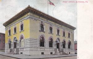 Post Office , ALTOONA , Pennsylvania , PU-1907