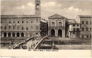 CPA PISA ponte di Mezzo e Palazzo Prefettizio. ITALY (468170)