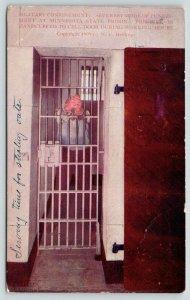 Stillwater Minnesota~State Prison~Solitary Confinement~Prisoner Handcuffed~1910