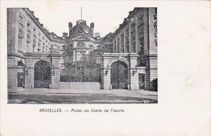 Belgium Brussells Palais Du Comte De Flandre