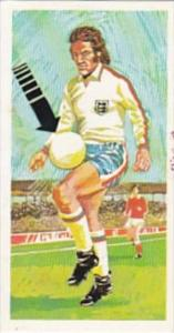 Brooke Bond Trade Card Play Better Soccer No 4 Controlling Ball With Thigh