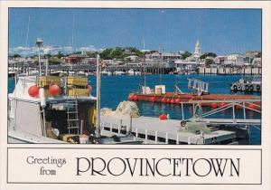 Greeting From Provincetown Cape Cod Massachusetts