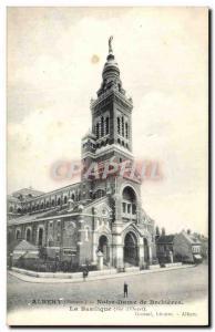 Old Postcard Albert Notre Dame Basilica Brebieres