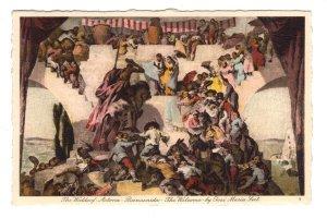 Waldorf Astoria Interior, Don Quixote Mural, New York City