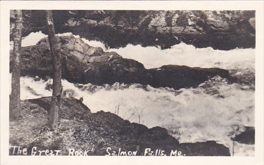 RP; The Great Rock, Salmon Falls, Maine, 1930-1950