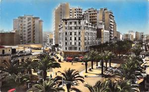 Morocco Casablanca Le Boulevard Mohamed El Hansali Voitures Promenade