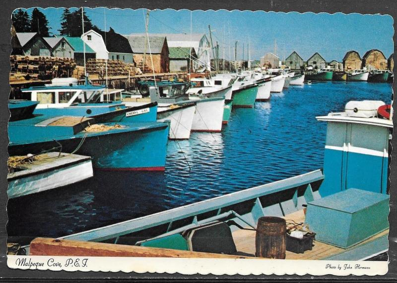 Canada, Prince Edward Island, Malpeque, mailed in 1985